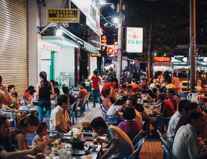 saigon food street